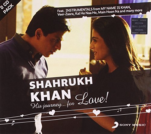 Price comparison product image Shahrukh Khan - His Journey.. For Love! (2 CD Instrumental Set) by My Name is Khan,  Kuch Kuch Hota Hai,  Kal Ho Naa Ho,  Veer Zaara (2011-02-01)