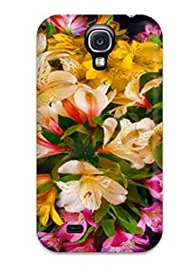 Protection Case For Galaxy S4 / Case Cover For Galaxy(colored Bouquet) 3054632K63638798