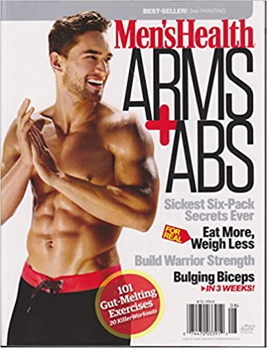 29f272a049f Men s Health Arms + Abs Magazine 2016 2nd Printing Single Issue Magazine –  2016