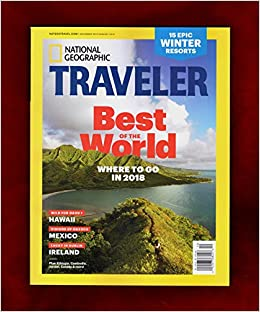 National Geographic Traveler - December 2017 - January 2018  Best of