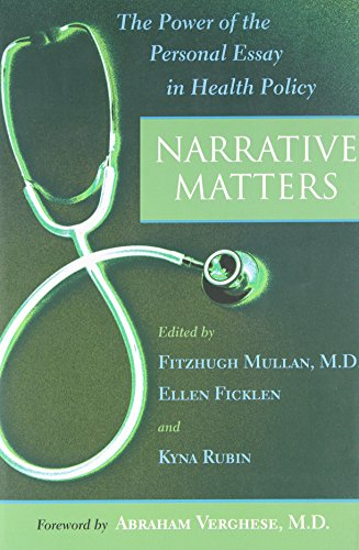 Narrative Matters: The Power of the Personal Essay in...