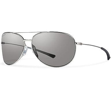 fe5b9a4c3f8 Amazon.com  Smith Optics Women s Rockford Slim Sunglasses (Silver ...