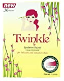 36 Pieces Twinkle (NOT Tinkle) Eyebrow Shaver Razor Bikini Trimmer Shaper...