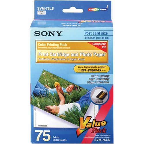 Sony SVM-75LS Ink and Paper Value Pack ()