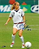 Autographed Heather Mitts USA Women's Olympic Soccer 8X10 Photo with COA