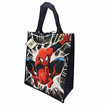 amazon co jp marvel ultimate spiderman web background tote bag