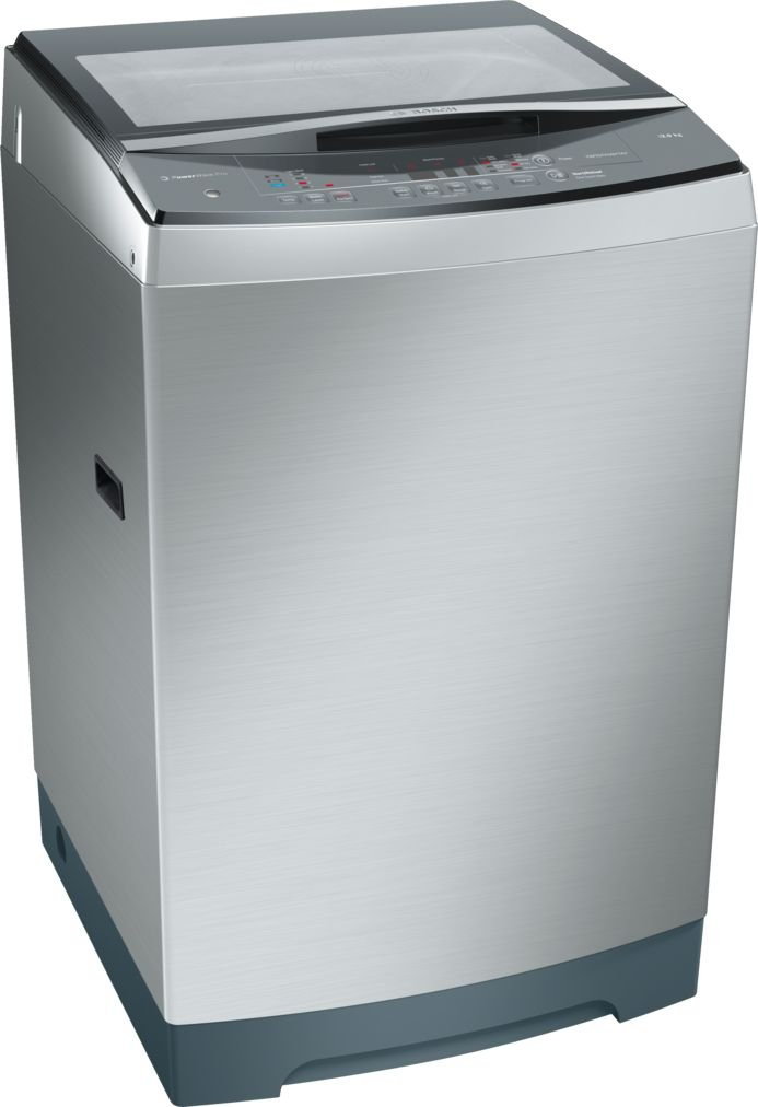 Bosch 12kg Fully Automatic Top Loading Washing Machine (WOA126X0IN, Silver)