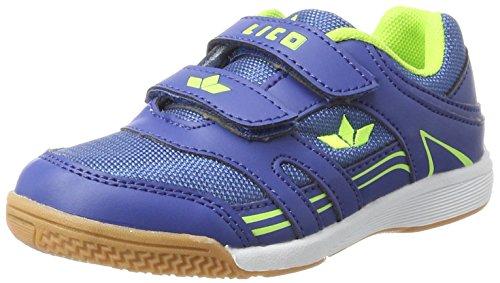 Lico Jungen Active Indoor Boy V Hallenschuhe Blau (Blau/Lemon)