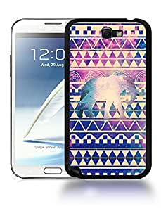 Aztec Tribal Space Elephant Hipster Pattern Phone Case Cover Designs for Samsung Galaxy Note 2