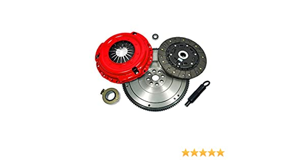 Amazon.com: EFT STAGE 2 CLUTCH KIT+HD FLYWHEEL for ACURA CL ACCORD PRELUDE F22 F23 H22 H23: Automotive