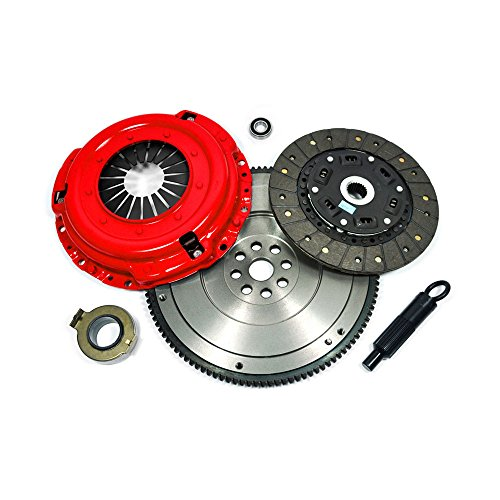 EFT STAGE 2 CLUTCH KIT+HD FLYWHEEL for 92-05 HONDA CIVIC DEL SOL D15 D16 D17