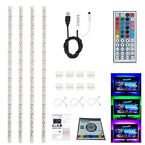 Topled Light LED TV USB Backlight Light Kit,Computer RGB LED Light Strip (Color Strip Mini Led)