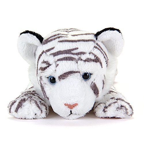 Real stuffed white tiger nesoberi series