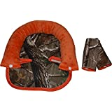 Carseat Accessories, Infant Accessories, Headrest & Strap Covers- Camo & Orange!