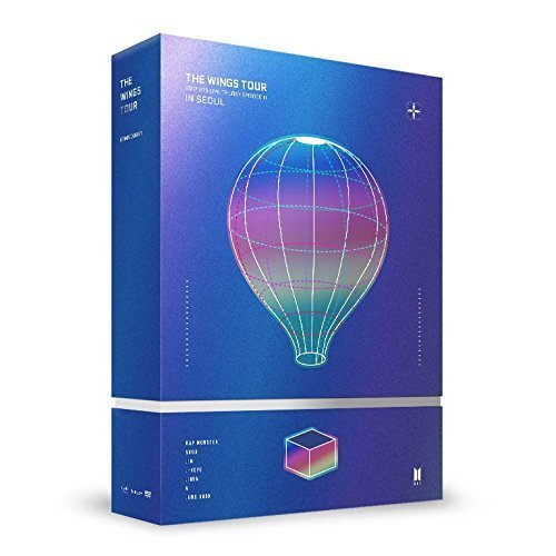 Albums Dvd Photo (BTS - 2017 BTS Live Trilogy EPISODE III THE WINGS TOUR in Seoul CONCERT DVD+ Store Gift 7 Photo Set + Kpop Mask)