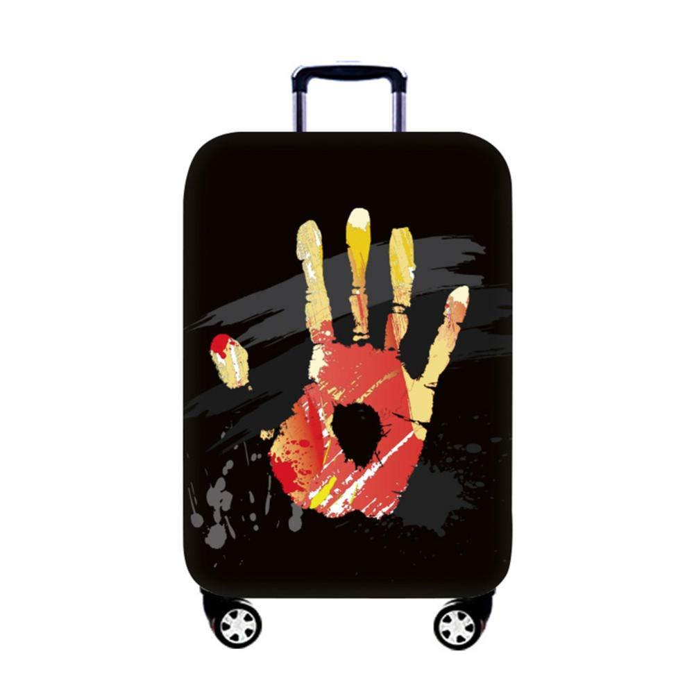 XPYOO Jaquette Anti-poussi/ère pour Bagages imprim/ée Couvre-Bagages r/ésistant /à lusure Housse de Protection pour Valise Haute /élastique @ Graffiti/_S