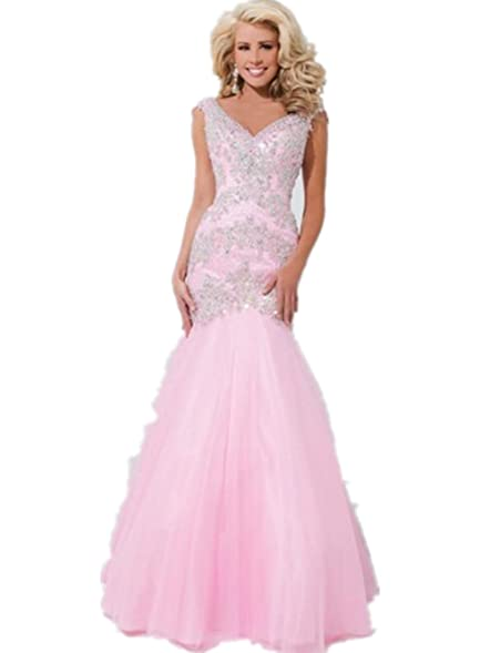 dress party prom gown 2017 hot sexy long floor length gown vestidos de fiesta pink lace