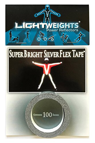 Lightweights SilverFlex SuperBright Reflective Tape 100