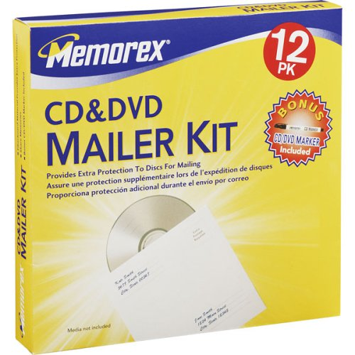 Memorex 12PK MAILER KIT (32021975) (Discontinued by Manufacturer)