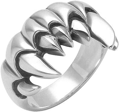 Wildthings Ltd Sterling Silver Biker Band Ring