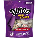 Dingo Non-China Mini Bone Chews for Dogs