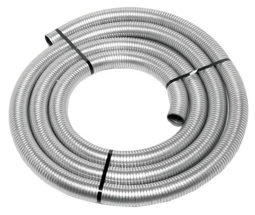 Walker (40002) 1-1/2'' Diameter - 25' Long Galvanized Flex Tube by Walker