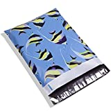 UCGOU #4 10x13 Butterflyfishes Designer Poly Mailers Shipping Envelopes Boutique Custom Bags 2.35MIL Multipurpose Envelopes Keep Items Safe & Protected Pack of 100