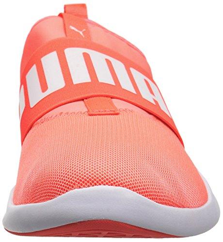 PUMA Herren Dare Sneaker Nrgy Pfirsich-Puma Weiß