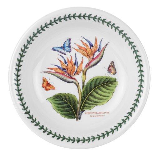 Portmeirion Exotic Botanic Garden Pasta Bowl with Bird of Paradise Motif
