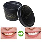 iLH Carbon Coco Teeth Whitening Powder,ZYooh 45g Natural Organic Activated Charcoal Bamboo Toothpaste Powder Effective Removes Tooth Stains (AluminumBox)