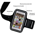 Arm Band For Samsung Galaxy S21 5G Sports Arm Belt with Adjustable Workout Band for Gym Running Jogging and Aerobics…