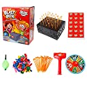 coldgirl Blastボックスデスクトップゲーム、ノックボックスバーストバルーン、おもちゃTricky Funny Prank