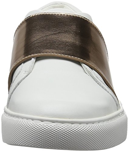 Kenneth Cole Women's Konner Low-Top Sneakers White (White/Rose Gold 198) 5m9oc