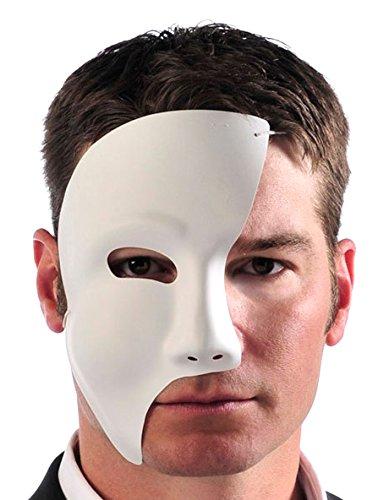 Phantom Mask White   Costume Accessories, 12 Ct.