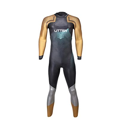 f9dcee7fff UTTER Men's Triathlon Wetsuit Elitepro Neoprene SCS Nano Coating Fullsleeve  Suit Open Water Swimming Fastest Suit