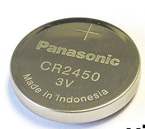 panasonic cr2450 lithium battery 3v 5 batteries per pack import it all. Black Bedroom Furniture Sets. Home Design Ideas