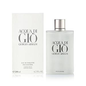 Acqua di Gio by Giorgio Armani for Men Eau de Toilette Spray, 6.7 Fl Oz