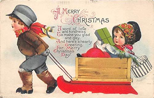 Holiday Postcards Wolf Publishing 1920