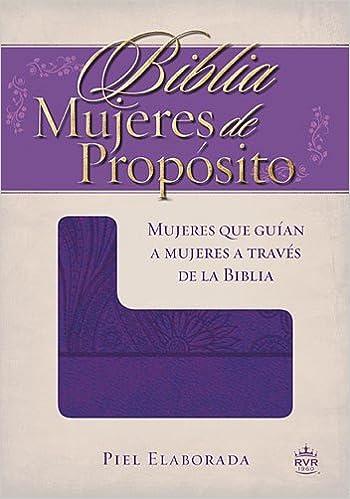 Biblia Mujeres de Proposito-Rvr 1960: Amazon.es: Rvr 1960- Reina ...