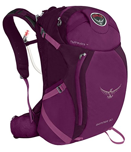 Osprey Packs Women's Skimmer 30 Hydration Pack, Plume Purple, X-Small/Small