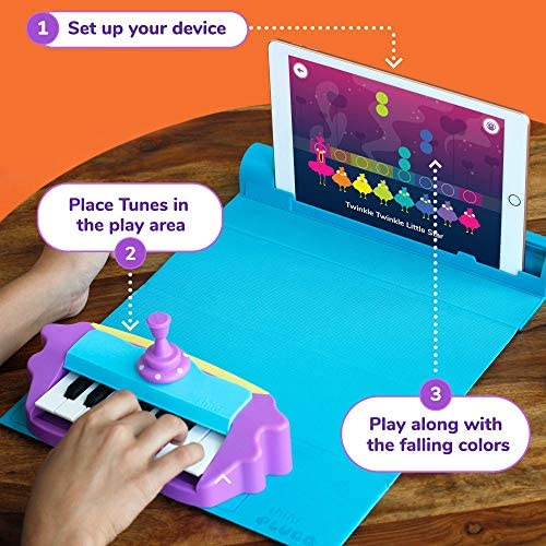 Plugo Tunes By PlayShifu - Piano Learning Kit Musical STEAM Toy For Ages 5-10 - Educational Music Instruments Gift For Boys & Girls (App Based)