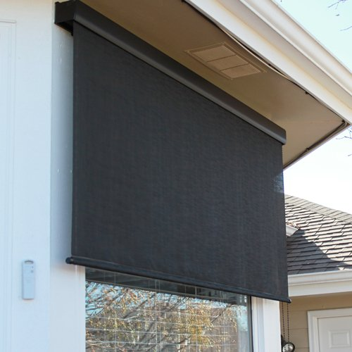 Premium Automated Outdoor Sun Shade, Motorized, Remote Control detail review