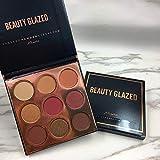 9 Colors Eyeshadow Palette Matte Makeup Palette Diamond Glitter Foiled Eye Shadows