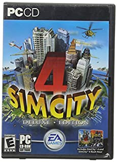 Sim City 4 Deluxe Edition with Rush Hour Expansion (B0000C0YW2) | Amazon price tracker / tracking, Amazon price history charts, Amazon price watches, Amazon price drop alerts