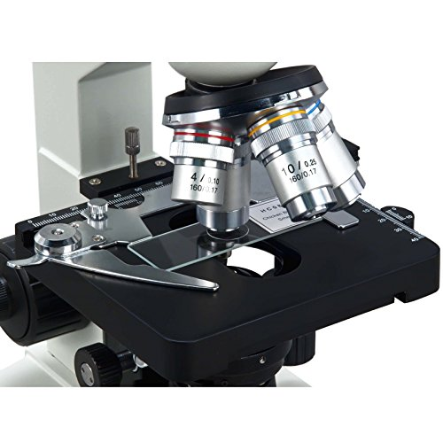 OMAX 40X-2500X LED Binocular Lab Compound Microscope with USB Camera and Mechanical Stage by OMAX (Image #4)