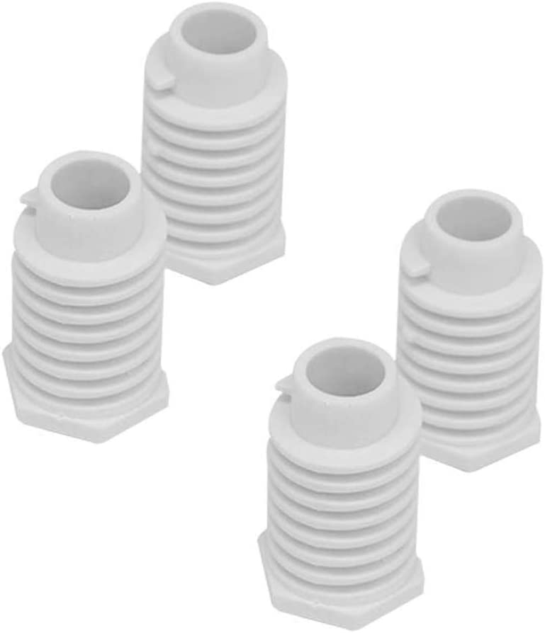 4PCS Dryer Leveling Leg Foot 49621 For Whirlpool Kenmore Amana,replace AP4295805 49621 279810, 1373044, 3392100, 40021