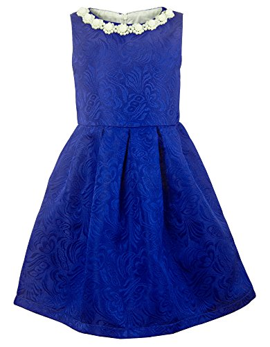 Ipuang Girls Dresses for Special Occasions Blue -