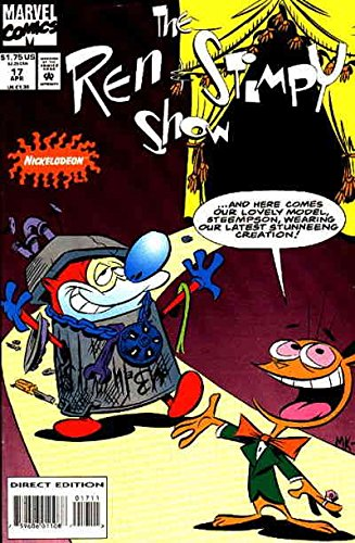Ren & Stimpy Show #17 VF/NM ; Marvel comic book
