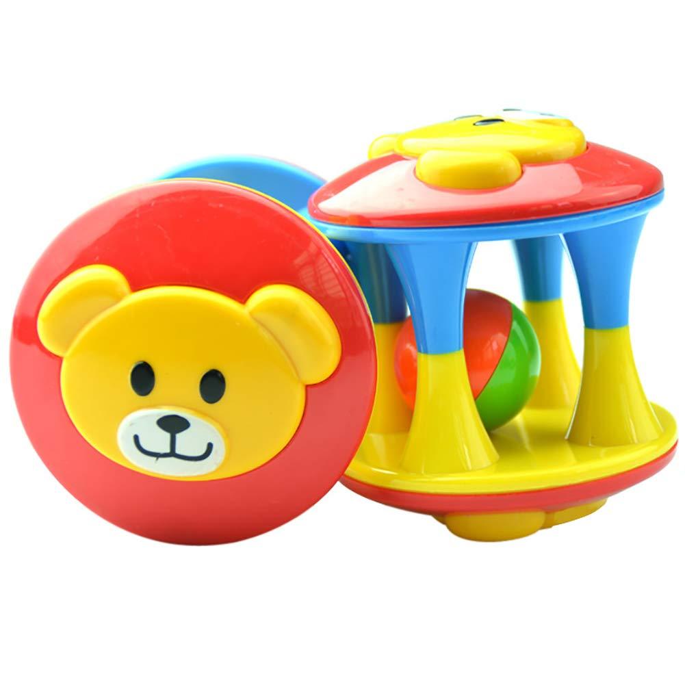 Move on Baby ラトルボールトイ カラフルな発達を促すローリングボール 新生児用ハンドベル 幼児用ギフト L0Y7VW1TLTN3N98IE5DM67  マルチ B07KR2J4T4
