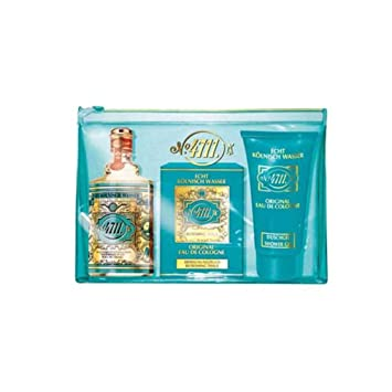 Travel Set 4711 Eau De Cologne+ Shower Gel 50Ml + Caja Toallitas